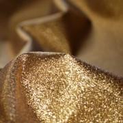 Glittrigt tyg textil flamskyddad blankt lurex