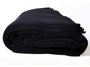 Molton polyester Trevira CS scenmolton