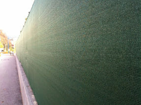 insynsskydd staket staketväv
