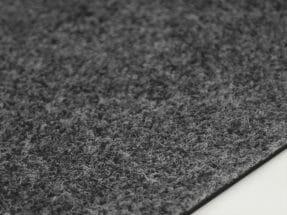 Textilplatta Slät grå