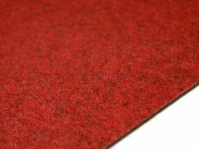 Textilplatta Slät Röd 4930