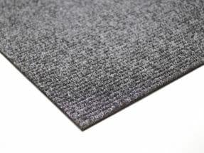 Textilplatta ribbad grå