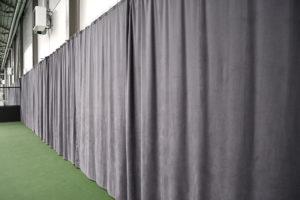 Ljudabsorberande textil tyg padel padelhall akustik tyg