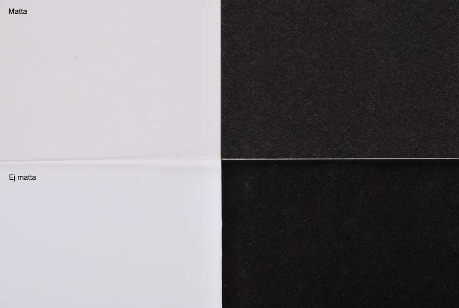 Transparent golv genomskinlig matta
