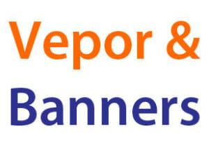 Banners och Vepor