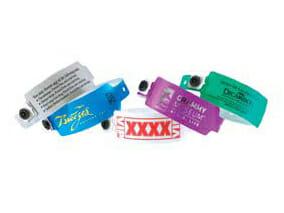 Vinylarmband, Festivalarmband i plast