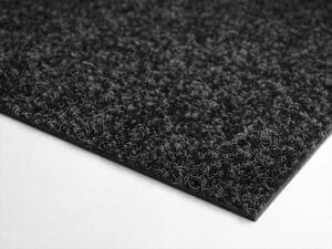 Textilplatta slät Antracit